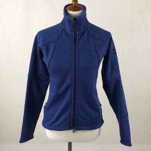 Patagonia Polartec Soft Full Zip Blue Jacket
